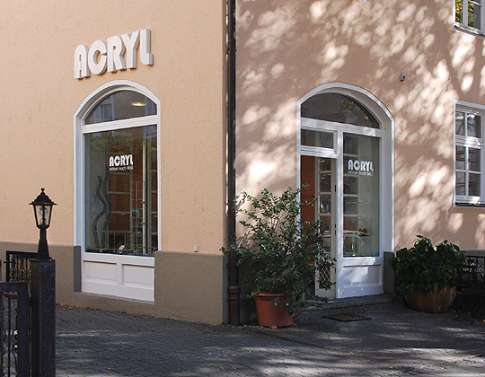 ACRYL Showroom in München-Nymphenburg